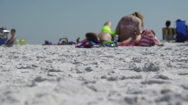 A scene on a typical Florida beach