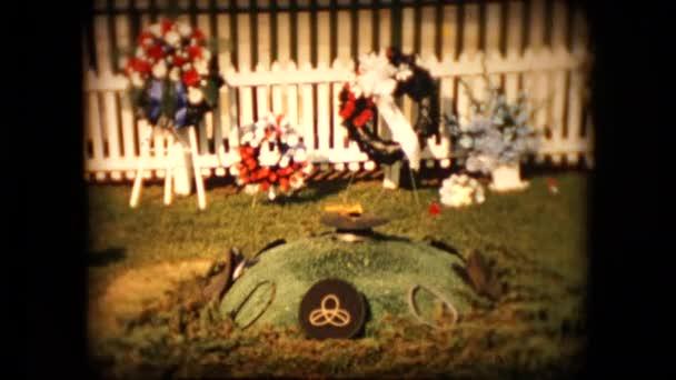 Ansicht Von Präsident John F Kennedy Grab Auf Dem Arlington