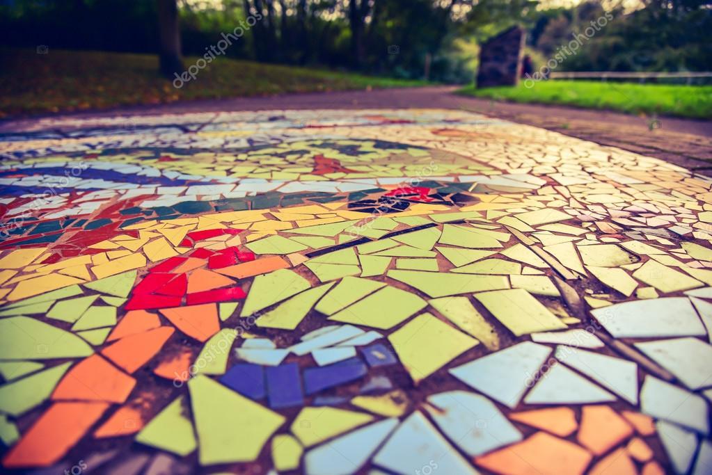 Fondo piso mosaico — Fotos de Stock © RobertChlopas #124486792