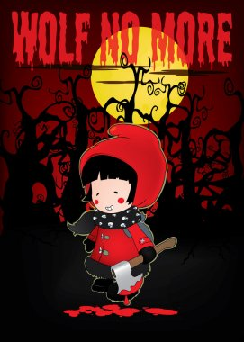 Little Red Riding Hood .Wolf no more