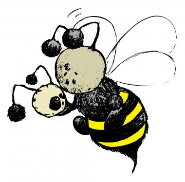 Bee plays the role of Hamlet