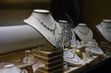 Broken Glass jewelry store