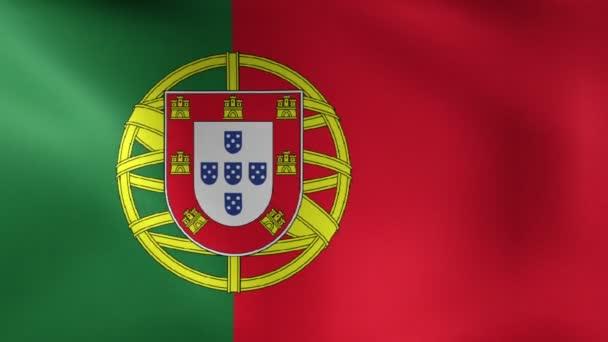 Portugál zászló fúj a szél