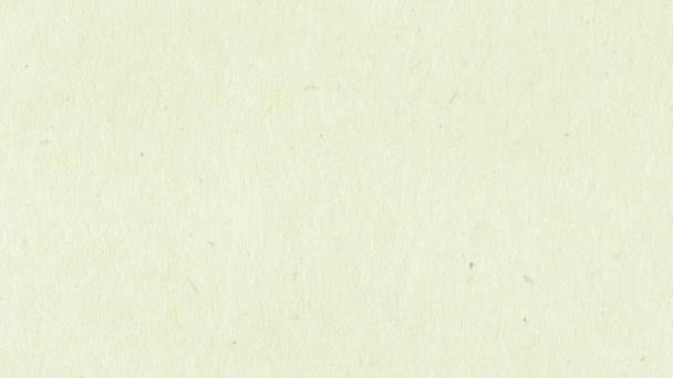 Animace textury papíru