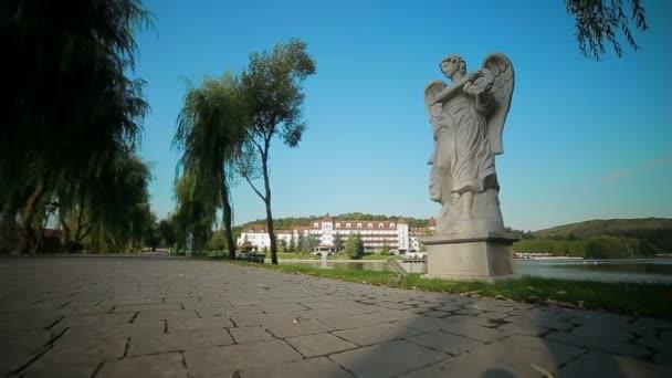Antické sochy anděla
