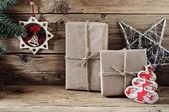 Vánoční dárek s detailním vánoční hračky ruční práce