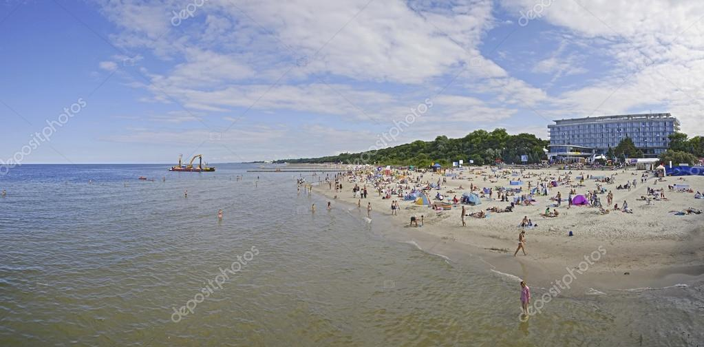 Beach in Kolobrzeg