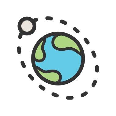 Moons Orbiitting Earth icon