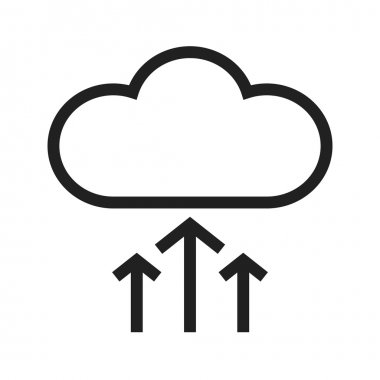 Cloud Upload Progress icon