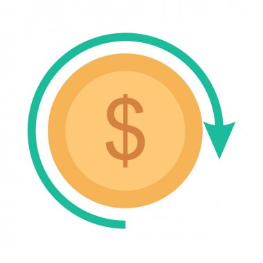 Return on Investment, money icon