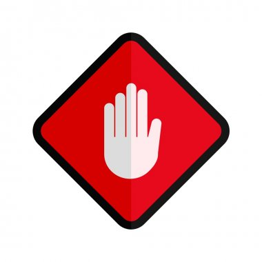 Hand,  Stop Sign Icon