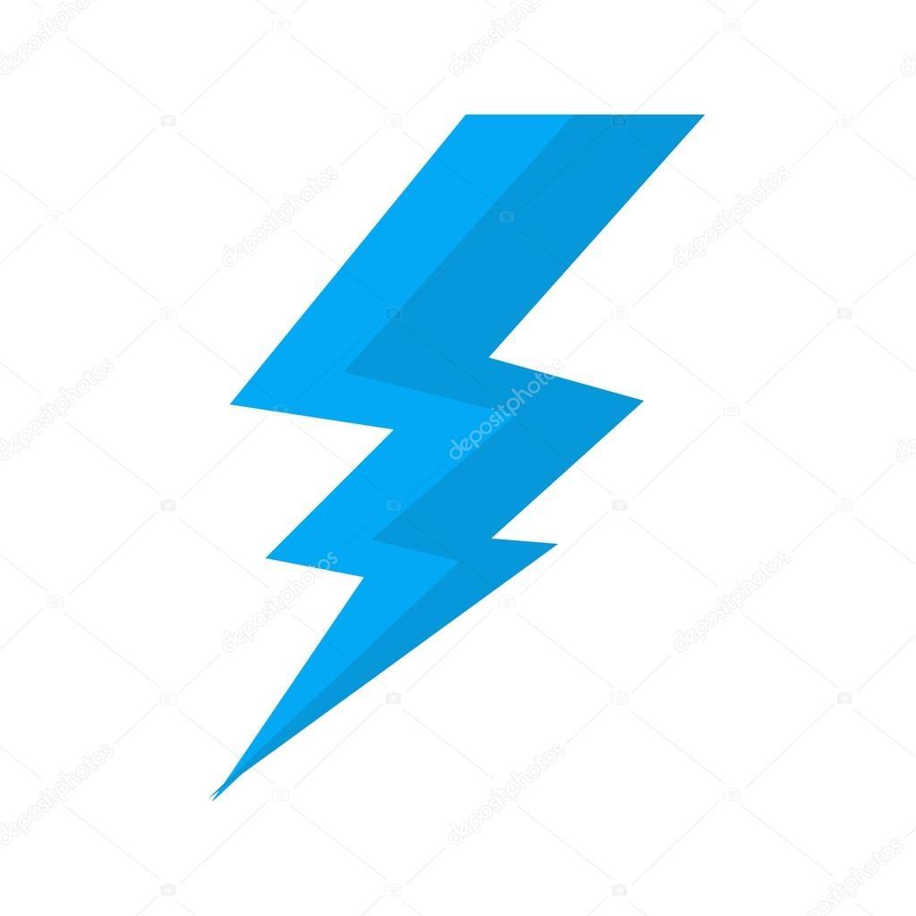 Blitz, Elektrizität-Symbol — Stockvektor © dxinerz #75718535