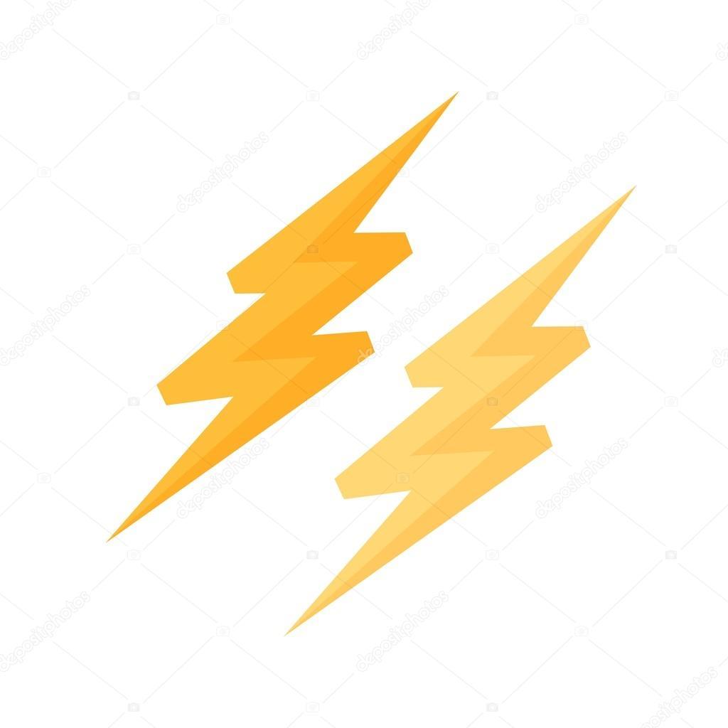 Blitz, Elektrizität-Symbol — Stockvektor © dxinerz #75718871