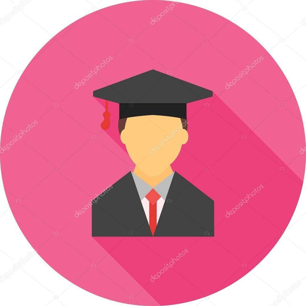male student education icon stock vector dxinerz 76335235