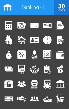Banking, finance icon