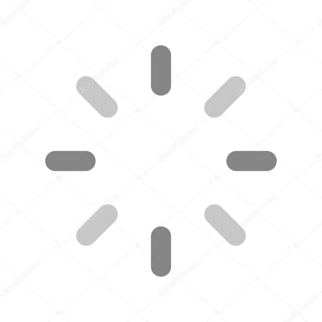 Netzwerkaktivität, Ladesymbol — Stockvektor © dxinerz #83090456