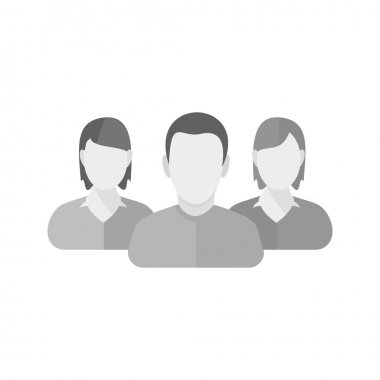 Clients, customers icon