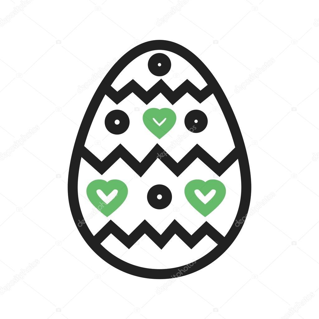 Easter egg icon stock vector dxinerz 83835650 easter egg icon stock vector buycottarizona