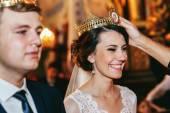 Spirituelle Christen Bräutigam und Braut