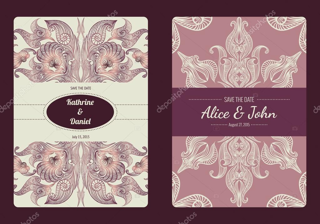 romantic date invitation template