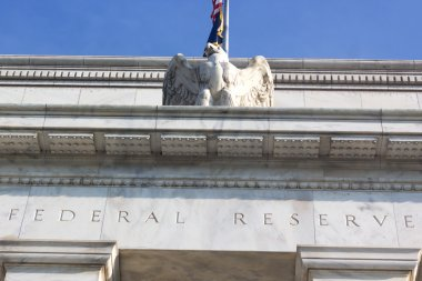 Federal Reserve building in Washington DC, US.