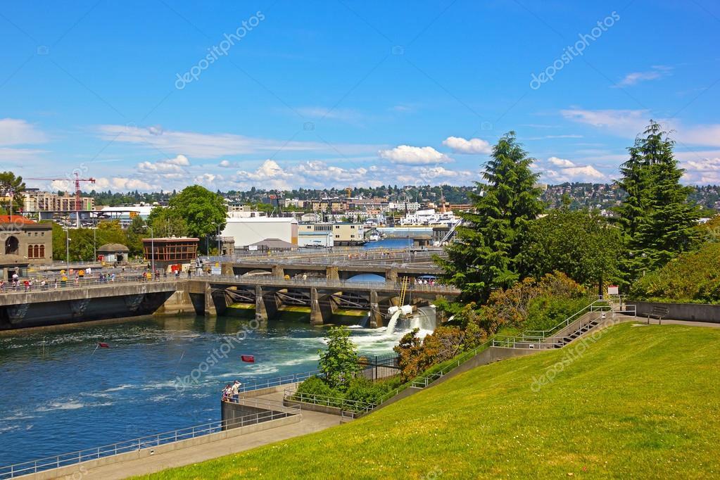 Ballard Locks in Seattle