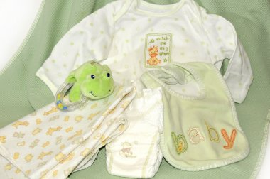 Items for new baby arrival