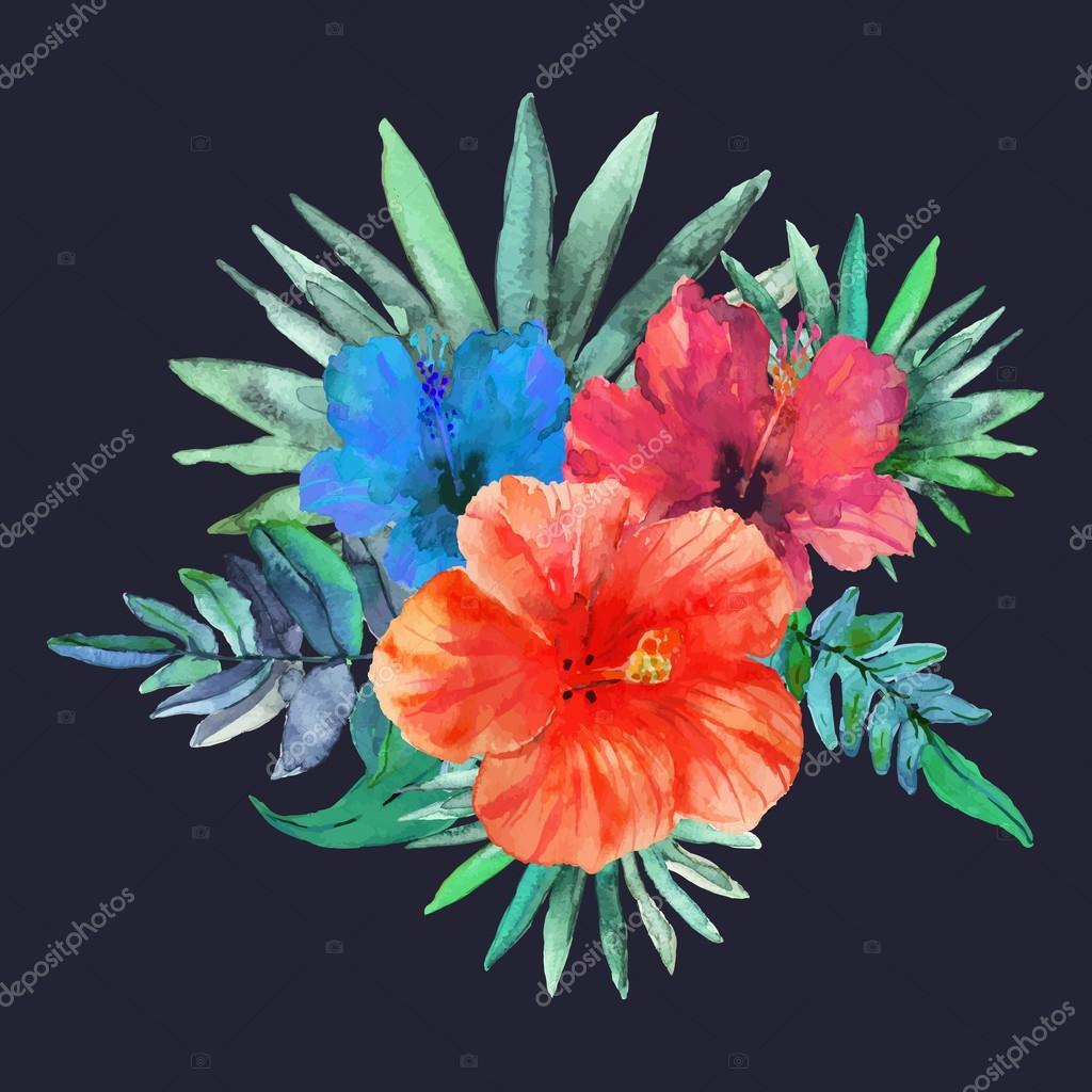 Floral tropical Texture