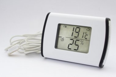 Electronic thermometer hygrometer