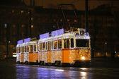 Fényképek Különleges villamos ünnepi fények Budapesten