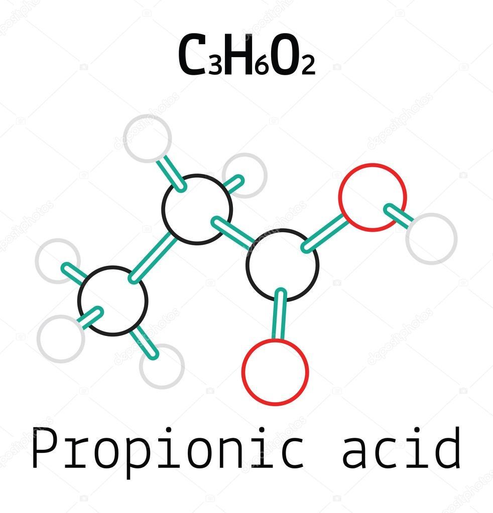 Resultado de imagen para ácido propiónico