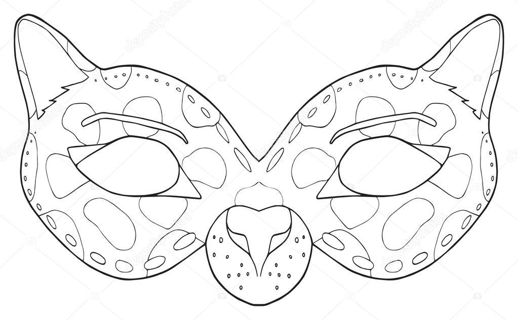 Imágenes: pantera negra para imprimir | Felices vacaciones - máscara ...