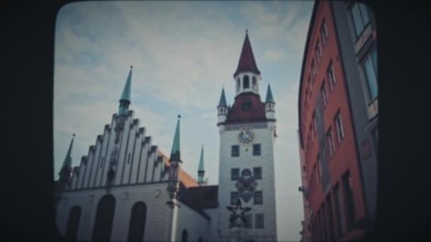 Hauptplatz in München im Winter