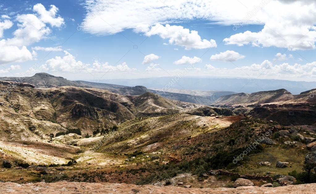 Toro Toro National Park Panorama