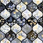 Photo Seamless patchwork pattern
