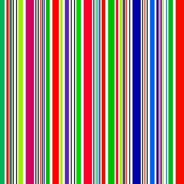 Rainbow stripe shiny banners  - Illustration