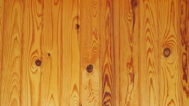 Holz Hintergrund. Kiefernholz-Textur. Die Kamera bewegt sich von links nach rechts