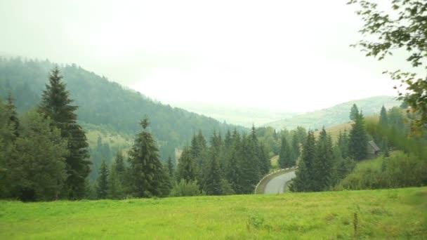 Scenic Landscapes Carpathian Mountains Ukraine