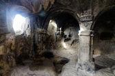 Uplistsikhe jeskynní komplex hala v Gruzii