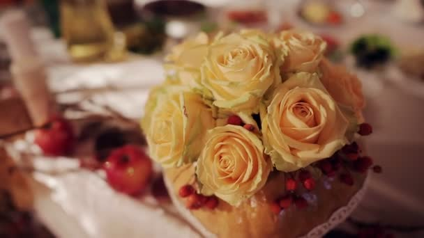 Hochzeit Dekoration mit Blumen