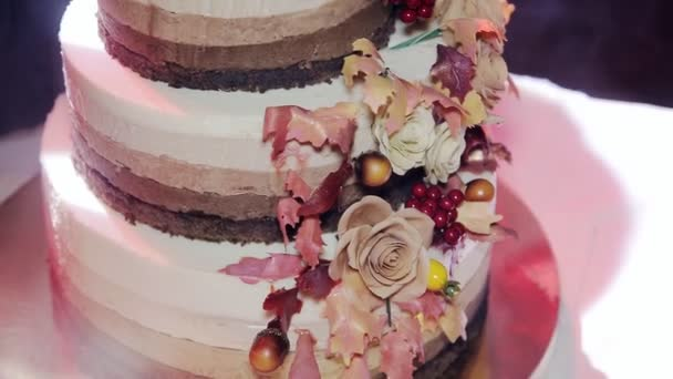 Rustic Wedding Cake Video