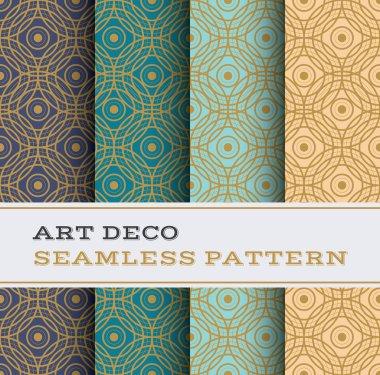 Art Deco seamless pattern 06