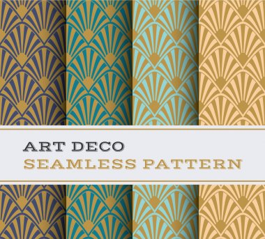 Art Deco seamless pattern 17