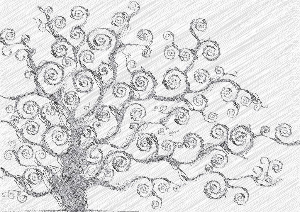 Afbeeldingen Getekende Bomen