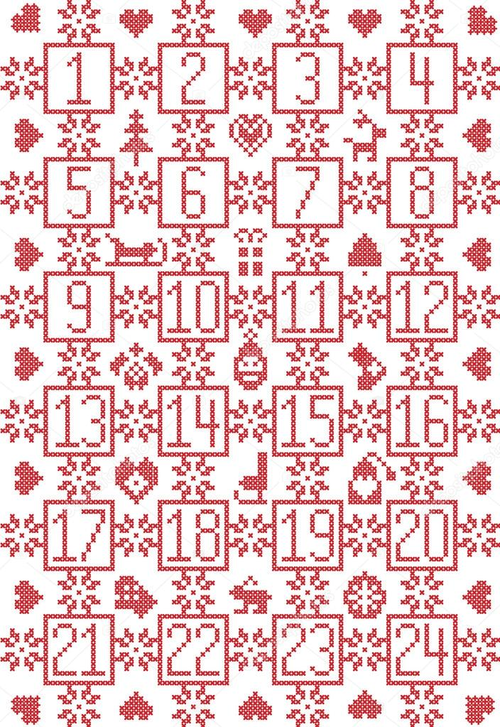 Skandinavisch inspiriert durch die Nordische Weihnachten ...