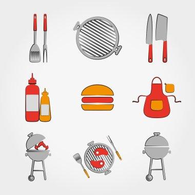 BBQ set.