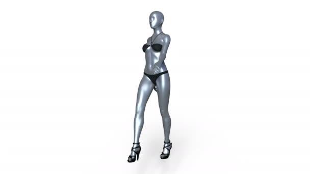 vykreslování 3D cg chůze