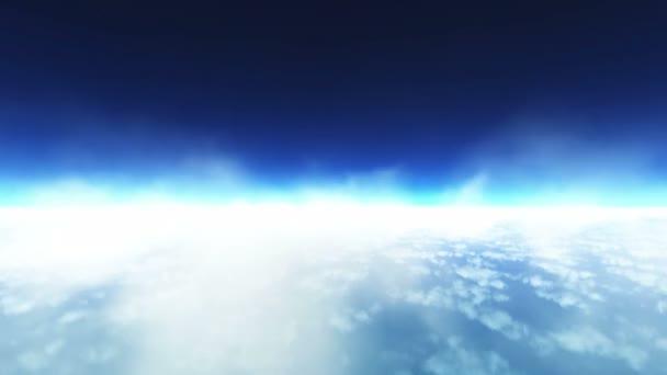 Repül át a felhők, a szivárvány jelenik meg