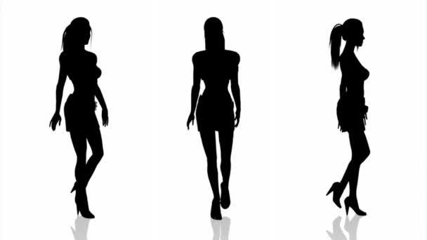 Silhouette nő