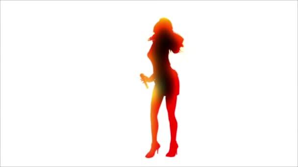 sagoma di donna